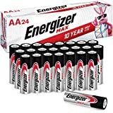 Energizer AA Batteries (24 Count), Double A Max Alkaline Battery