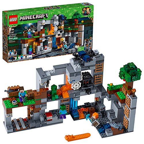 LEGO Minecraft The Bedrock Adventures 21147 Building Kit (644 Pieces)