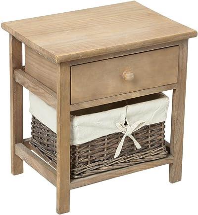 Amazonfr Table Chevet Bambou Meubles Ameublement Et