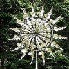 Moulin à Vent en métal Unique et Magique - Les Sculptures bougent avec Le Vent, décor de Jardin en métal pour capteur de Vent extérieur, capteur de Vent Solaire pour la décoration (1pcs)