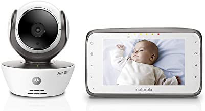 Motorola MBP854CONNECT Dual Mode Baby Monitor with 4.3-Inch LCD Parent Monitor and Wi-Fi..