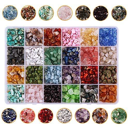 Candygirl - Perlas pequeñas de piedras naturales de cristal