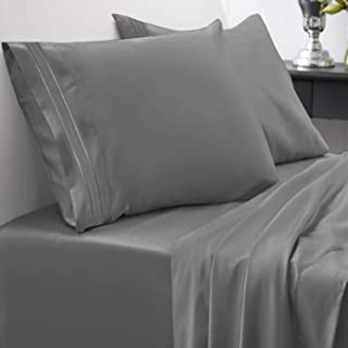 1800 Thread Count Sheet Set – Soft Egyptian Quality Brushed Microfiber Hypoallergenic..