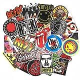 Street Autocollants Rock and Roll Stickers Punk Métal Guitare...