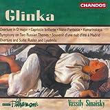Glinka: Capriccio Brillante / Overture in D Major / Souvenir D'Une Nuit D'Ete A...