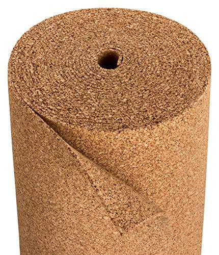 Sughero isolante per laminato e parquet, adatto per riscaldamento a pavimento, in sughero per...