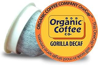 The Organic Coffee Co. Gorilla DECAF 36 Ct Natural Water Processed Medium Light Roast..