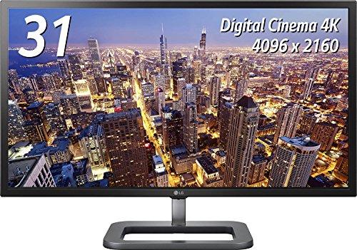 LG モニター ディスプレイ 31MU97-B 31インチ/4K(4096×2160)/IPS 非光沢/HDMI×2、DisplayPort/高さ調節、ピボット対応/スピーカー内蔵