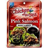 Chicken of the Sea Pink Salmon, Sweet & Spicy, 2.5oz (Pack of 12) – Keto Friendly, Gluten Free, High in Omega 3 Fatty Acids & Protein