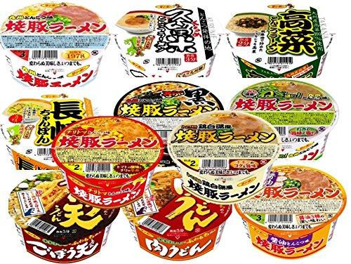 九州の味 サンポー カップ麺 6種類 各2個 1箱:12個入り