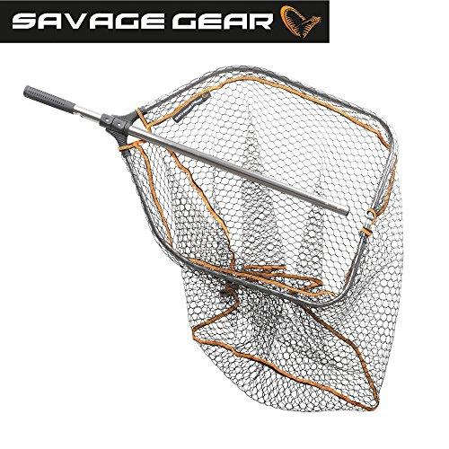 Savage Gear PRO Pieghevole in Gomma Grandi Retino 65x 50cm