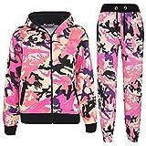 A2Z 4 Kids®Enfants Survêtement Garçons Filles Designer Camouflage Imprimé - T.S A2Z Camo Baby Pink 13
