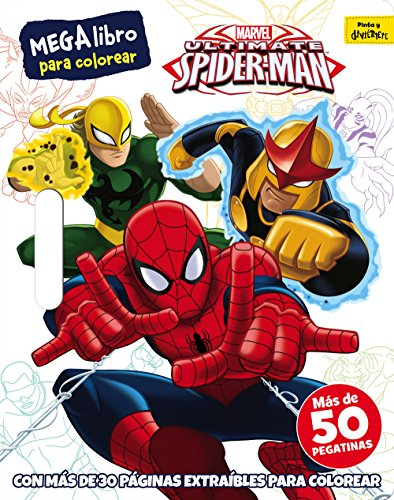 Spider-Man. Megalibro para colorear