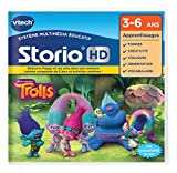 VTech- Jeu HD Storio Trolls, 271005, Multi-Couleur