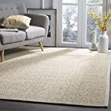 Safavieh Natural Fiber Collection NF525C Marble Sisal Area Rug (5' x 8')