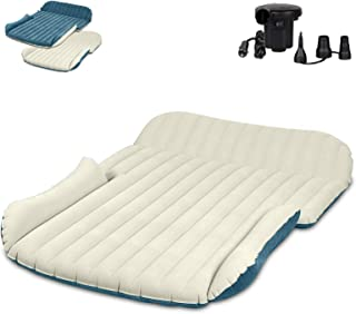 WEY&FLY SUV Air Mattress Thickened and Double-Sided Flocking Travel Mattress Camping..