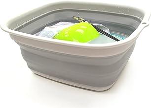 SAMMART 7.7L (2 Gallon) Collapsible Tub – Foldable Dish Tub – Portable..