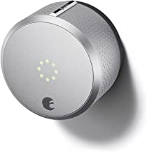 August Smart Lock, 2nd Generation, HomeKit enabled (Silver)