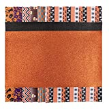 AIEX 8 Pcs Halloween Theme Faux Leather Sheet, Synthetic Leather Fabric for Earrings Making, Handmade Crafts, Hair Clip Headband Making Supplies (13.4x7.9 Inches)
