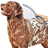 Waterpik PPR-252 Pet Wand Pro Shower Sprayer Attachment, 13', for Fast and Easy at Home Dog Cleaning, Blue/Grey