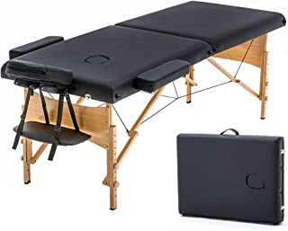 Massage Table Portable Massage Bed Spa Bed 73 Inches Long 28 Inchs Wide Hight Adjustable..