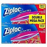 Ziploc Storage Bags, Gallon, 150 Count