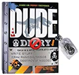 DUDE Diary - for boys 8-12 - illustrated - with lock and keys - activities and journalling fun! (Coke or Pepsi? Universe)