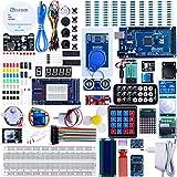 ELEGOOE Mega R3 Kit de Démarrage Ultime Le Plus Complet avec Manuel d'Utilisation Français pour Débutants et Professionnels DIY Compatible avec Arduino IDE