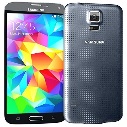 Samsung Galaxy S5 for STRAIGHT TALK with ACCESSORIES BUNDLE - Use Verizon's 4G LTE Network (BLACK)