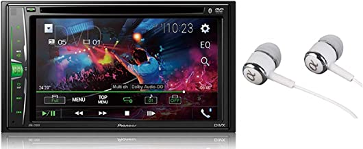 Pioneer in-Dash Double Din WVGA Display Built-in Bluetooth Multimedia DVD CD MP3 USB..