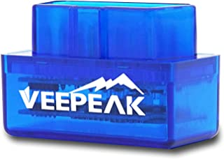 Veepeak Mini Bluetooth OBD2 Scanner for Android, Car OBD II Diagnostic Scan Tool Check..