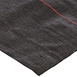 Mutual WF200 Polyethylene Woven Geotextile Fabric, 300' Length x 6' Width