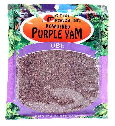 Giron Powdered Purple Yam - Ube, 115g (4 oz)
