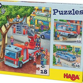 HABA- Puzle de policía (302759)