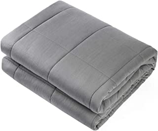 "Waowoo Adult Weighted Blanket Queen Size(15lbs 60""x80"") Heavy Blanket with.."