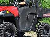 SuperATV Aluminum Doors for Polaris Ranger Midsize 570 / ETX/EV (2015+) - Pair of Front...