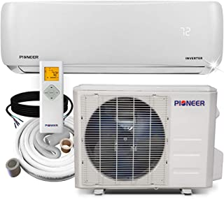 Pioneer Air Conditioner WYS009A-19 Wall Mount Ductless Inverter+ Mini Split Heat Pump,..