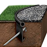 Oly-Ola Edgings Black Jack Poly Lawn Edging Kit - Black