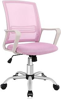 Office Chair, Mid Back Mesh Office Computer Swivel Desk Task Chair, Ergonomic Executive..