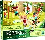 Juegos Mattel Scrabble Aprende Inglés Juegos de mesa, multicolor (GGB31)