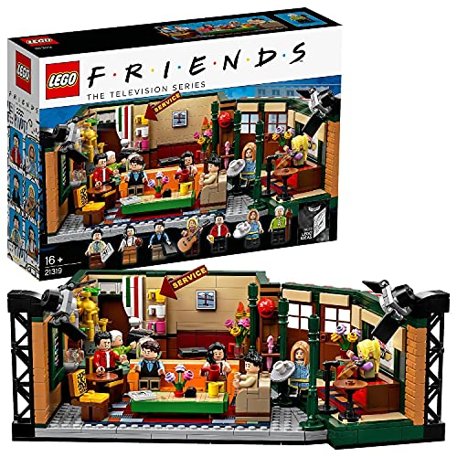 LEGO 21319 Ideas FRIENDS Central Perk Café Konstruktionsspielzeug mit 7 Minifiguren, Sammlermodell...
