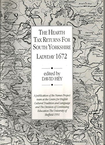 Hearth Tax Returns for South Yorkshire, Ladyday, 1672