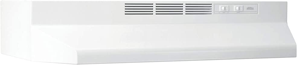 Broan-NuTone 413001 Non-Ducted Ductless Range Hood with Lights Exhaust Fan for Under..