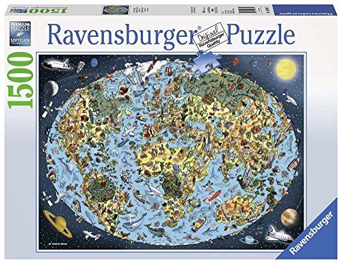 Ravensburger 16360 - Terra Colorata Puzzle, 1500 Pezzi
