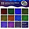 OMERIL Party Lights Disco Ball, USB Powered 11 RGBY Color Disco Lights Sound Activated Strobe Light with Remote Control DJ Lights for Home Room Parties Birthday Bar Karaoke Xmas Wedding Show Club #4