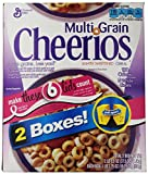 General Mills Multigrain Cheerios Cereal, Lightly Sweetened, 37.5 Ounce