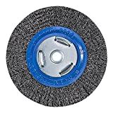 Mercer Industries 183010 Crimped Wire Wheel, 6' x 3/4' x 2' (1/2', 5/8'), For Bench/Pedestal Grinders