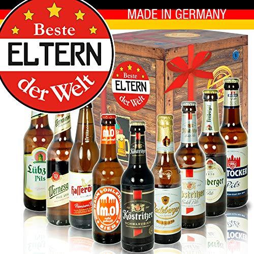 Beste Eltern der Welt - mit Ostdeutschen Bieren - Geburtstag Eltern