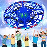 SHWD UFO Drones for Kids, Hand Operated Mini Drone Child Kids Drone with Led Lights, Levitation...