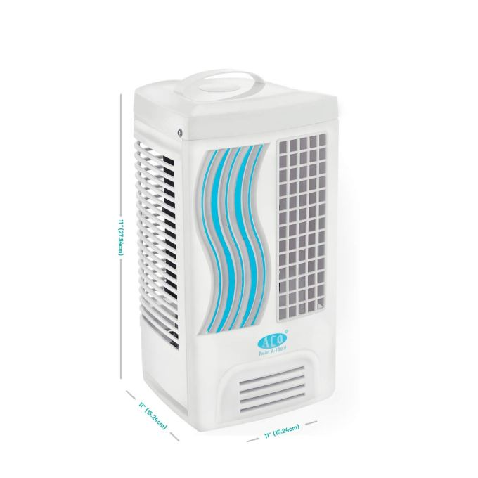 Buy Aco Twist A 100 P Micro Tower Fan White Online At Low Prices In India Amazon In